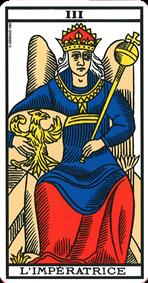 carte de tarot l'impératrice