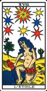 Carte de tarot L'Étoile
