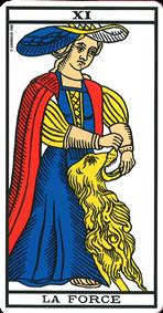 carte de tarot La Force