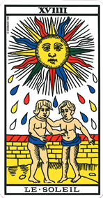 Carte de tarot Le Soleil